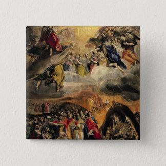イエス・キリスト、c.1578の名前の崇敬 5.1cm 正方形バッジ