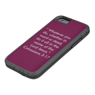 """""""イエス・キリスト"""" Iphone 6/6Sの携帯電話の箱の名で Tough Xtreme iPhone 6 ケース"""