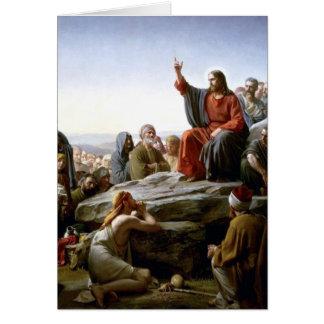 イエス・キリスト「s説教山によるBloch カード