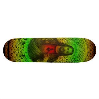 イエス・キリストRastafariのスケートボードの神聖なハート 20.6cm スケートボードデッキ