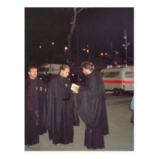 イエズス会士の崇拝者 ポストカード