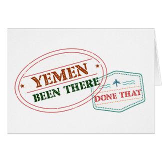 イエメンそこにそれされる カード