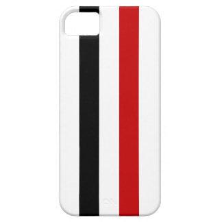 イエメンの国の長い旗の国家の記号の名前 iPhone SE/5/5s ケース