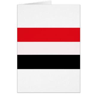 イエメンの旗 カード