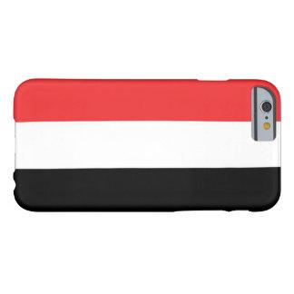 イエメンの旗 BARELY THERE iPhone 6 ケース