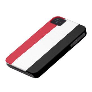 イエメンの旗 Case-Mate iPhone 4 ケース