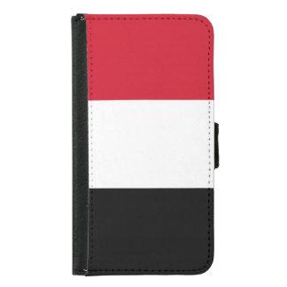 イエメンの旗 GALAXY S5 ウォレットケース