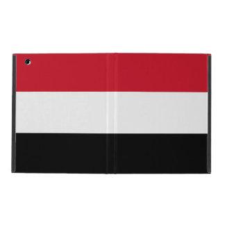 イエメンの旗 iPad ケース