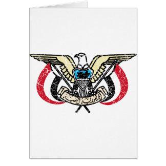 イエメンの紋章付き外衣 カード