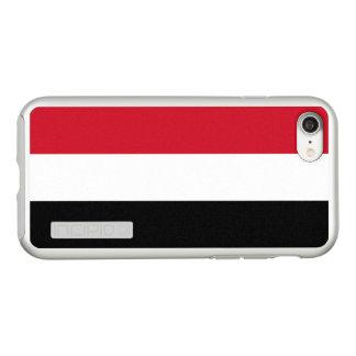 イエメンの銀製のiPhoneの場合の旗 Incipio DualPro Shine iPhone 8/7ケース