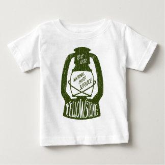 イエローストーンのキャンプ ベビーTシャツ