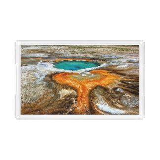 イエローストーンの上昇温暖気流のプール アクリルトレー