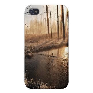 イエローストーンの霜の降りたな朝 iPhone 4/4Sケース