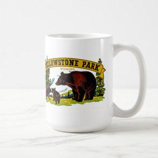 イエローストーン公園 コーヒーマグカップ