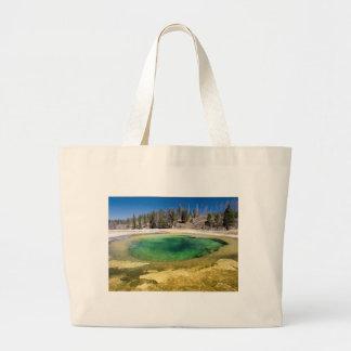 イエローストーン国立公園のカスタマイズ可能なギフト ラージトートバッグ