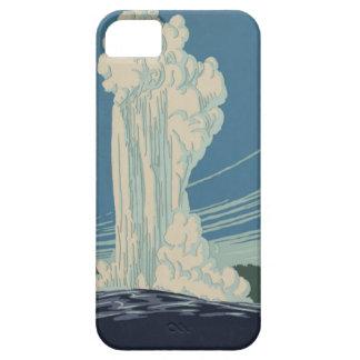 イエローストーン国立公園の古い忠実 iPhone SE/5/5s ケース