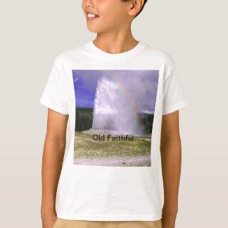 イエローストーン国立公園の古い忠実 Tシャツ