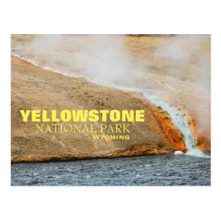 イエローストーン国立公園の郵便はがき ポストカード