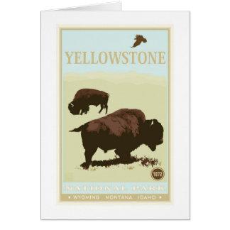 イエローストーン国立公園 カード