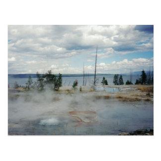 イエローストーン国立公園 ポストカード