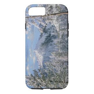 イエローストーン国立公園、ワイオミングの冬 iPhone 8/7ケース