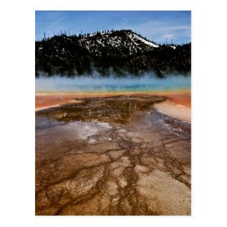 イエローストーン国立公園、壮大なプリズム ポストカード