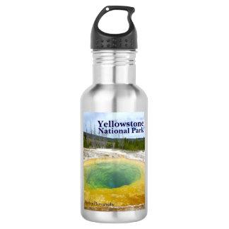 イエローストーン: 文字が付いている朝顔のプール ウォーターボトル