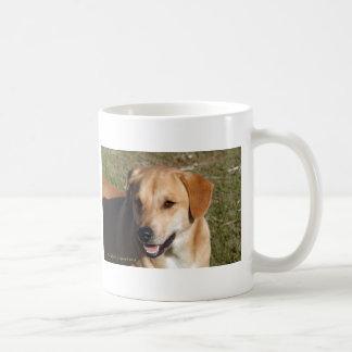 イエロー・ラブラドール・レトリーバー犬 コーヒーマグカップ