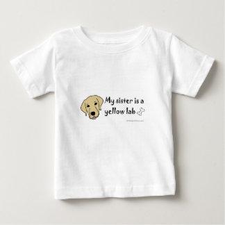 イエロー・ラブラドール・レトリーバー-多くは繁殖します ベビーTシャツ