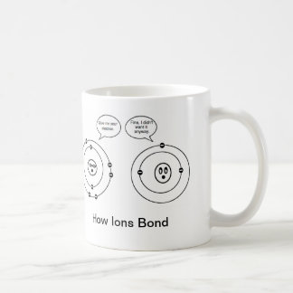 イオンがいかに結ぶか コーヒーマグカップ
