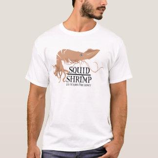 イカのエビ Tシャツ