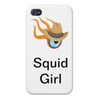 イカの女の子 iPhone 4/4S CASE