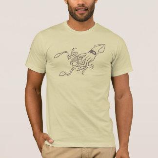 イカの攻撃 Tシャツ