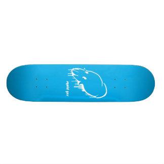 イカのYes! 20.6cm スケートボードデッキ