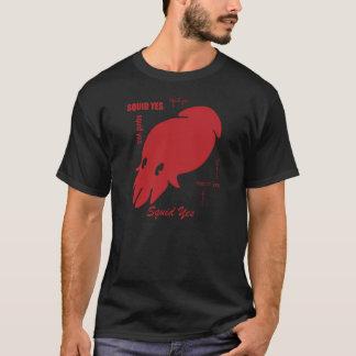 イカのYes! Tシャツ