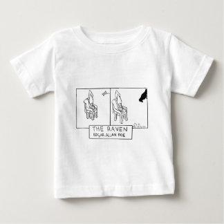 イカインク-ワタリガラス ベビーTシャツ