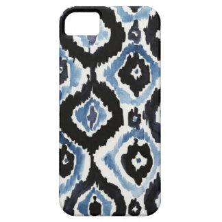 イカットの青 iPhone SE/5/5s ケース