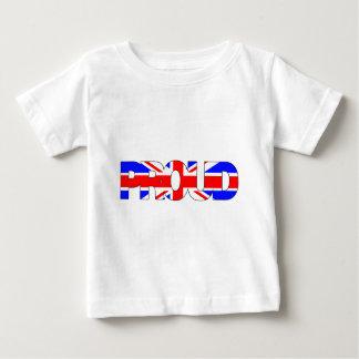 イギリスがあること誇りを持ったがあって下さい ベビーTシャツ