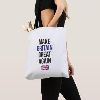 イギリスに素晴らしいイギリス第1の旗の#Brexitを再度作って下さい トートバッグ