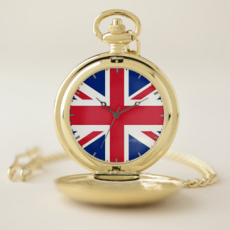 イギリスのが付いている愛国心が強い壊中時計 ポケットウォッチ
