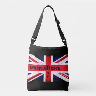イギリスのための独立記念日 クロスボディバッグ