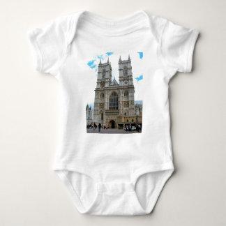 イギリスのまわり、   ウェストミンスター寺院 ベビーボディスーツ