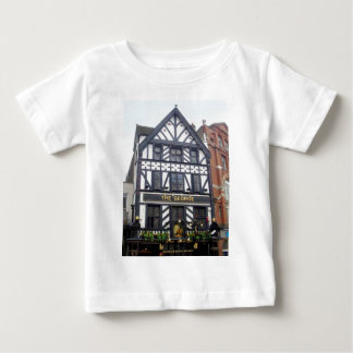 イギリスのまわり、    ジョージのロンドンのパブ ベビーTシャツ