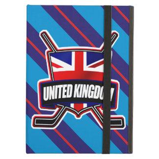 イギリスのアイスホッケーの盾のiPadカバー iPad Airケース
