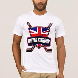 イギリスのアイスホッケーの盾 Tシャツ