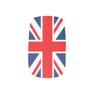 イギリスのイギリスの旗 ネイルアート