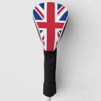 イギリスのイギリスの王室のな英国国旗の旗 ゴルフヘッドカバー