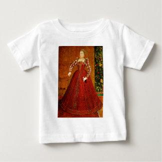 イギリスのエリザベス女王一世のハンプデンのポートレート ベビーTシャツ