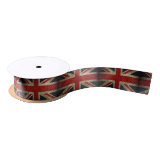 イギリスのギフトの装飾の英国国旗の旗 サテンリボン