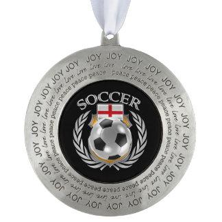 イギリスのサッカー2016ファンのギア オーナメント
